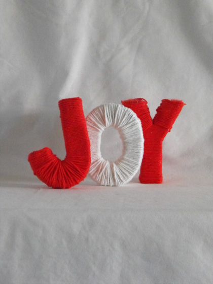 Third Grade Arts & Crafts Activities: Yarn Letters