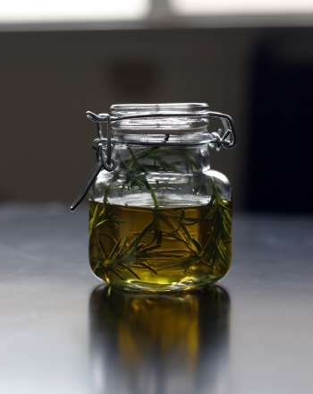 Fifth Grade Recipes Activities: How to Make Infused Olive Oil