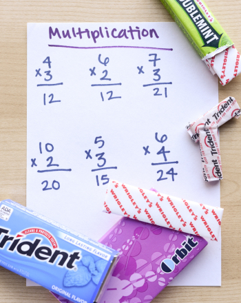 Middle School Science Science Projects: Does Chewing Gum Make You Smarter?