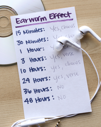High School Science Science projects: Is the Earworm Effect Real?