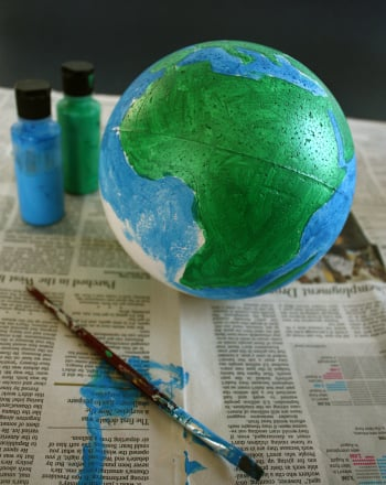 Third Grade Science Science Projects: Create Your Own Earth Model
