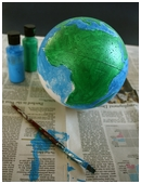 In this project, you'll build a model of the earth, complete with all seven continents and four major oceans.