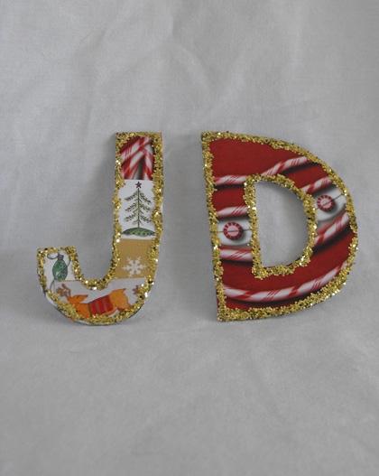 Third Grade Arts & Crafts Activities: Letter Craft
