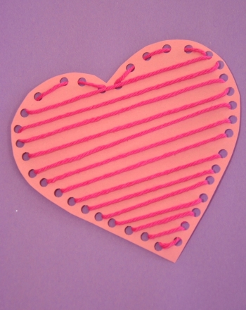 Kindergarten Holidays & Seasons Activities: Paper Heart Craft