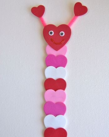 Second Grade Holidays Activities: Valentine Bookmark