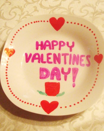 Fifth Grade Holidays Activities: Valentine Plates