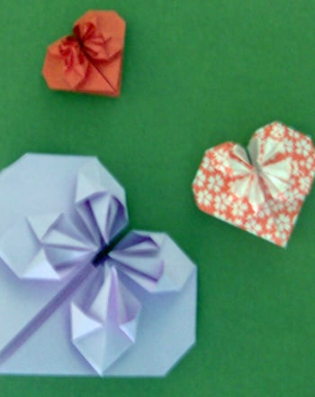 Fifth Grade Arts & Crafts Activities: Origami Heart