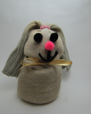 Fourth Grade Seasons Activities: Sock Rabbit