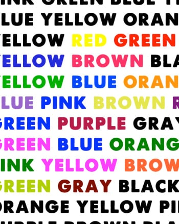 Does Text Color Affect Readability | Science project