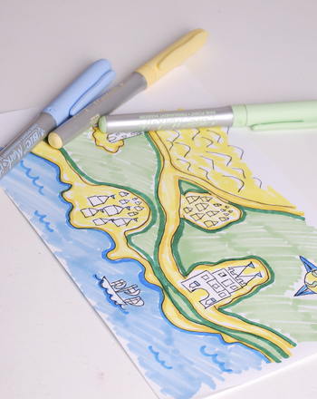 First Grade Reading & Writing Activities: Draw a Fairy Tale Map