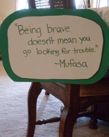 Second Grade Arts & crafts Activities: Inspirational Quote Board