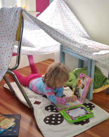 First Grade Arts & crafts Activities: Blanket Fort