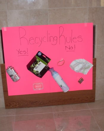 Second Grade Arts & Crafts Activities: Recycling Rules