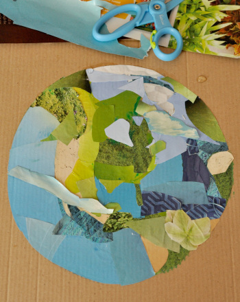 Kindergarten Holidays & Seasons Activities: Eco-Friendly Multimedia Collage