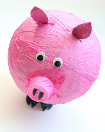 First Grade Holidays & Seasons Activities: Make Your Own Piñata!