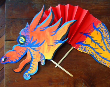 First Grade Holidays & Seasons Activities: Dancing Chinese Dragon