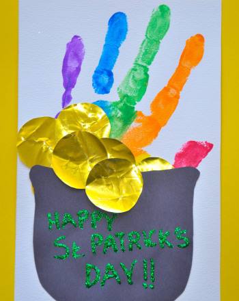 First Grade Holidays Activities: Irish Pot of Gold