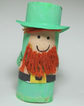 First Grade Holidays Activities: Leprechaun Craft