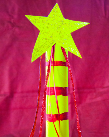 First Grade Arts & crafts Activities: Magic Wand Craft