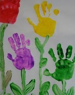 Handprint Flowers | Activity | Education.com
