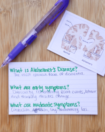 High School Science Science projects: Alzheimer's Disease