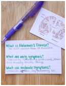 Research what is known about Alzheimer's disease and its treatment, and then prepare a script for television to educate the public.