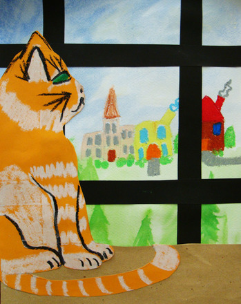 Fifth Grade Arts & Crafts Activities: Layered Art