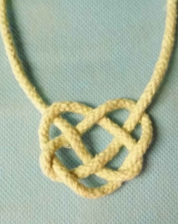 Fifth Grade Holidays Activities: How to Make a Celtic Knot