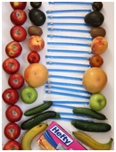 This science fair project examines which fruits and/or vegetables will ripen prematurely when placed with ripe apples.