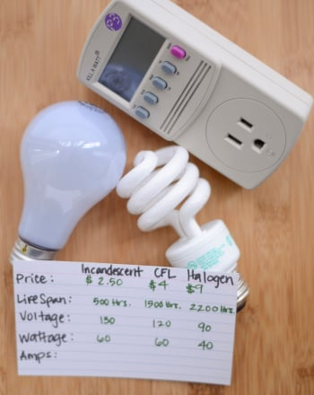 High School Science Science Projects: Shedding Light on Energy Efficient Bulbs