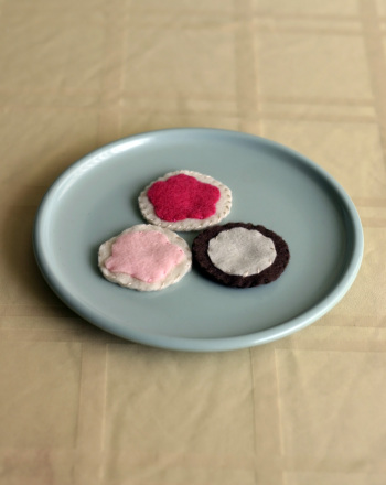Third Grade Arts & crafts Activities: Felt Cookies