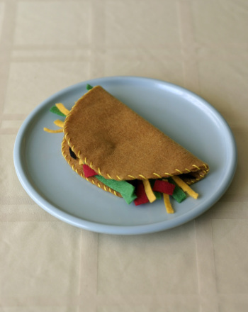 Third Grade Arts & crafts Activities: Felt Food Taco