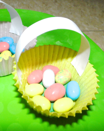 Third Grade Arts & crafts Activities: Mini Easter Baskets