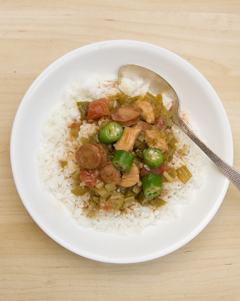 Fifth Grade Seasons Activities: Chicken and Sausage Gumbo with Okra