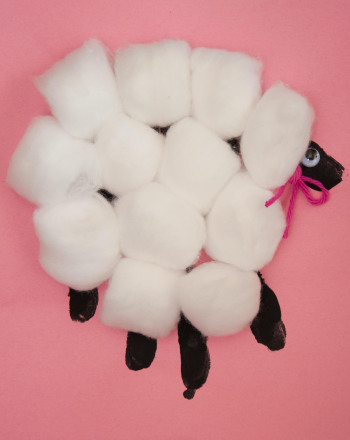 Kindergarten Holidays & Seasons Activities: Fluffy Sheep