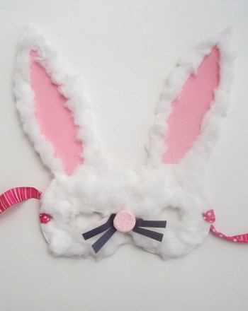 Kindergarten Holidays & Seasons Activities: Easter Bunny Mask