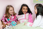 Sleepovers have long been considered a rite of passage for American children, but it can also be stressful. How do you prepare for your kid's first sleepover?