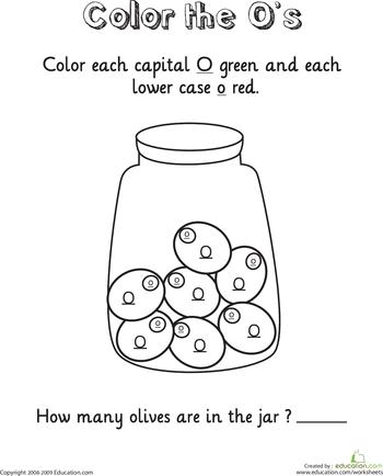 Free Printable Letter O Worksheets For Kindergarten Inviview