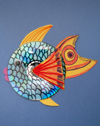 Second Grade Holidays & Seasons Activities: CD Fish