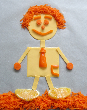Preschool Holidays & Seasons Activities: Something Orange
