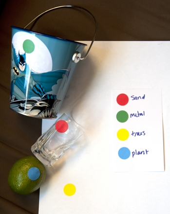 First Grade Reading & Writing Activities: It's All Natural! A Materials Scavenger Hunt
