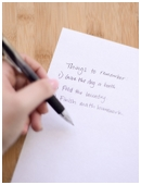Learn whether writing things down really makes things easier to remember.
