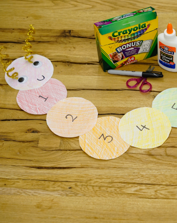 First Grade Math Activities: Caterpillar Math Game
