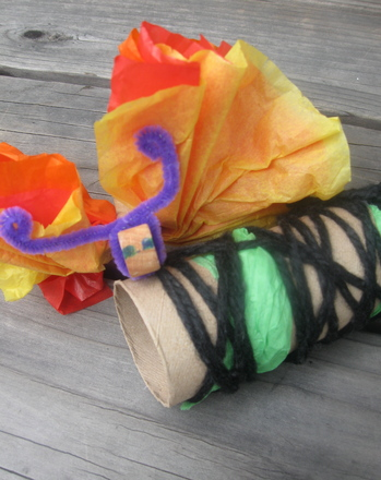 Second Grade Science Activities: Craft a Butterfly and Chrysalis
