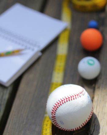 Fourth Grade Science Science projects: Throwing a Baseball