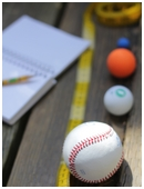 With this science fair idea, little scientists will gain valuable insights into the physics behind throwing a baseball.