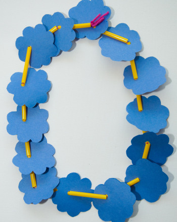 Second Grade Holidays & Seasons Activities: Flower Necklace