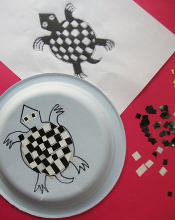 Fifth Grade Holidays Activities: Make an Aztec Inspired Mosaic Plate