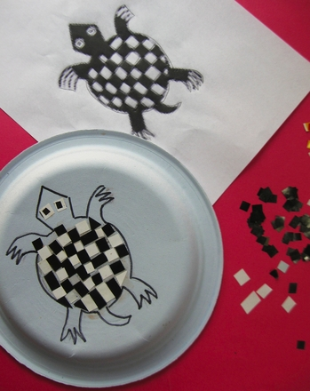 Fifth Grade Holidays & Seasons Activities: Make an Aztec Inspired Mosaic Plate