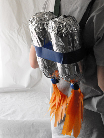Second Grade Arts & crafts Activities: DIY Jetpack